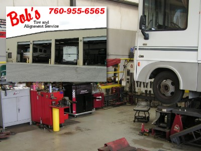 [ Motorhome Brake & Suspension Service in Southern California ]